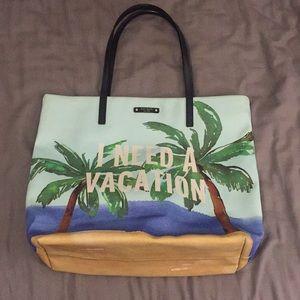 I Need A Vacation Kate spade purse